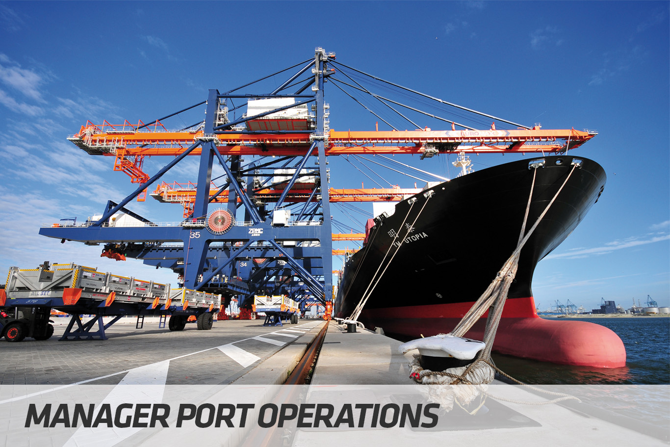 Courses | Manager Port Operations | STC Maritime & Logistics University