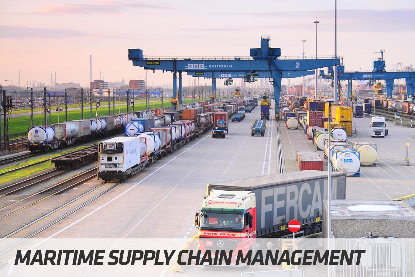 Courses | Maritime Supply Chain Management | STC Maritime & Logistics University